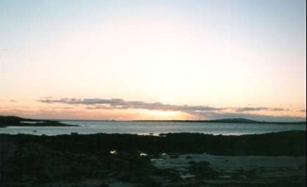 Dawn over Tiree